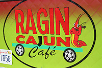 1st Annual Los Angeles Guitar Festival, July 2011.  Ragin Cajun Cafe food truck.