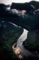 Aerial of River Dredging
