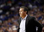 UK head coach John Calipari during the first half of the men's basketball game vs. LSU at Rupp Arena, in Lexington, Ky., on Saturday, January 26, 2013. Photo by Genevieve Adams  | Staff.