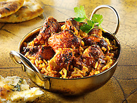 Chicken Rogan Josh curry. Indian food pictures, photos & images