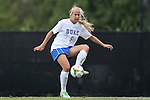 14 September 2014: Duke's Rebecca Quinn (CAN). The Duke University Blue Devils hosted the Louisiana State University Tigers at Koskinen Stadium in Durham, North Carolina in a 2014 NCAA Division I Women's Soccer match. Duke won the game 1-0.