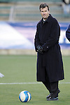3 November 2006: Anson Dorrance. North Carolina defeated Clemson 3-0 at SAS Soccer Park in Cary, North Carolina in an Atlantic Coast Conference women's college soccer tournament semifinal game.