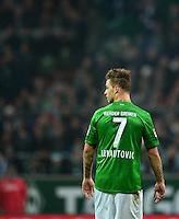 FUSSBALL   1. BUNDESLIGA   SAISON 2012/2013    22. SPIELTAG SV Werder Bremen - SC Freiburg                                16.02.2013 Marko Arnautovic (SV Werder Bremen) enttaeuscht