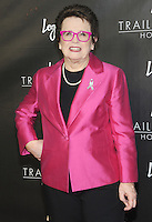"NEW YORK, NY - June 23: Billy Jean King attends Logo's  2016 ""Trailblazer Honors""June 23, 2016 at The Cathedral of St. John the Divine  in New York City .  Photo Credit: John Palmer/ MediaPunch"