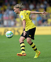 FUSSBALL       DFB POKAL 1. RUNDE        SAISON 2013/2014 SV Wilhelmshaven - Borussia Dortmund    03.08.2013 Marcel Schmelzer (Borussia Dortmund) am Ball