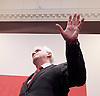 John McDonnell MP,  Labour&rsquo;s Shadow Chancellor<br /> post-Brexit economy speech<br /> Labour&rsquo;s plans for the economy post Brexit and what Labour wants to see from the upcoming negotiations.<br /> at The Institute of Mechanical Engineers, One Birdcage Walk, London, Great Britain <br /> 27th October 2016&nbsp;<br /> <br /> <br /> John McDonnell MP<br /> Hayes and Harlington, Middlesex<br /> <br /> <br /> Photograph by Elliott Franks <br /> Image licensed to Elliott Franks Photography Services