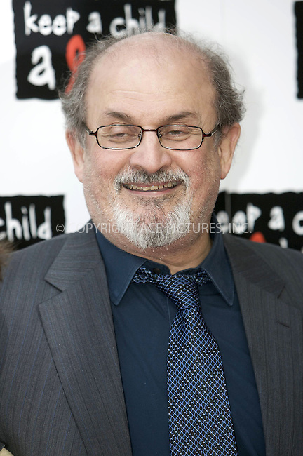 """WWW.ACEPIXS.COM . . . . .  ..... . . . . US SALES ONLY . . . . .....May 27 2010, London....Salman Rushdie at the """"Keep A Child Alive Black Ball"""" fundraiser on May 27 2010 in London....Please byline: FAMOUS-ACE PICTURES... . . . .  ....Ace Pictures, Inc:  ..Tel: (212) 243-8787..e-mail: info@acepixs.com..web: http://www.acepixs.com"""
