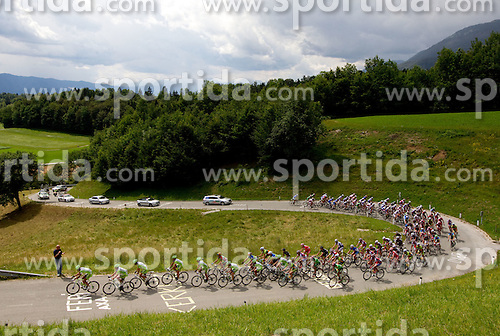 Peloton during cycling race 44th Grand Prix Kranj - Filip Majcen Memorial 2011, UCI Cat. 1.1 (177,3 km), on July 2, 2011, in Slovenia. (Photo by Vid Ponikvar / Sportida)