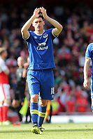 Gareth Barry of Everton after Arsenal vs Everton, Premier League Football at the Emirates Stadium on 21st May 2017
