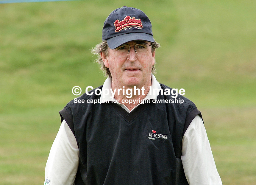 Joe Carr, professional golfer, USA. Taken at British Seniors Open Championship at Royal County Down, Newcastle, N Ireland. Ref: 200107272882..Copyright Image from Victor Patterson, 54 Dorchester Park, Belfast, UK, BT9 6RJ..Tel: +44 28 9066 1296.Mob: +44 7802 353836.Voicemail +44 20 8816 7153.Skype: victorpattersonbelfast.Email: victorpatterson@mac.com.Email: victorpatterson@ireland.com (back-up)..IMPORTANT: If you wish to use this image or any other of my images please go to www.victorpatterson.com and click on the Terms & Conditions. Then contact me by email or phone with the reference number(s) of the image(s) concerned.
