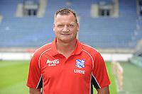 VOETBAL: HEERENVEEN: Abe Lenstra Stadion, 01-07-2013, Fotopersdag SC Heerenveen, Eredivisie seizoen 2013/2014, Albert van der Sleen keeperstrainer, © Martin de Jong