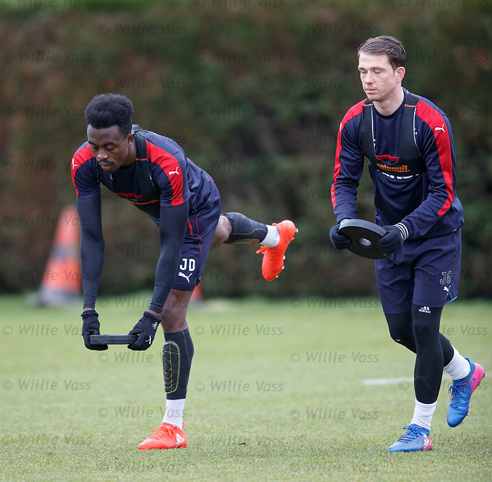 Joe Dodoo and Joe Garner