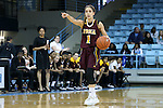 21 November 2015: Iona's Marina Lizarazu (ESP). The University of North Carolina Tar Heels hosted the Iona College Gaels at Carmichael Arena in Chapel Hill, North Carolina in a 2015-16 NCAA Division I Women's Basketball game. UNC won the game 64-52.