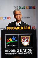 FIFA Inspection Visit Press Briefing September 07 2010