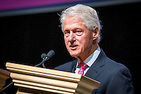 LAS VEGAS, NV - August 12, 2016: President Bill Clinton pictured at the Asian American Journalists Association and APIAVote 2016 Presidential Election Forum at The Colosseum at Caesars Palace in Las Vegas, NV on August 12, 2016. Credit: Erik Kabik Photography/ MediaPunch