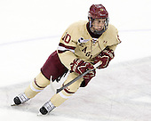 Danny Linell (BC - 10) - The Boston College Eagles defeated the visiting Northeastern University Huskies 3-0 after a banner-raising ceremony for BC's 2012 national championship on Saturday, October 20, 2012, at Kelley Rink in Conte Forum in Chestnut Hill, Massachusetts.