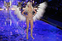 Devon Windsor on the runway at the Victoria's Secret Fashion Show 2014 London held at Earl's Court, London. 02/12/2014 Picture by: James Smith / Featureflash