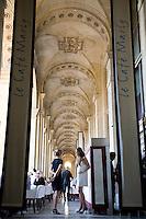 Marly Cafe, Louvre Art Museum, Paris, France