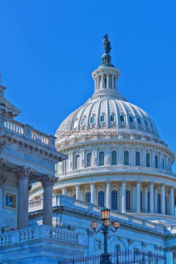 Washington, DC, US, Capitol, building, Senate, on left, Capital Dome, District of Columbia, Nations Capital, Washington, DC, Beautiful, Unique