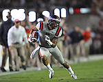 Ole Miss' Randall Mackey (1) vs. Alabama at Bryant-Denny Stadium in Tuscaloosa, Ala. on Saturday, September 29, 2012. Alabama won 33-14. Ole Miss falls to 3-2.