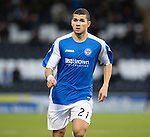 St Mirren v St Johnstone.....02.02.13      Scottish Cup.Mehdi Abeid.Picture by Graeme Hart..Copyright Perthshire Picture Agency.Tel: 01738 623350  Mobile: 07990 594431