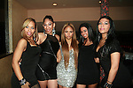 Singers Flawless, Electric, Kat DeLuna, Dulce and Sassy  attend Dominican Republic Ministry of Tourism Press Conference & Reception for DR Fashion Week at LQs, 2/14/11