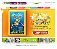 National Geographic Young Explorer Magazine, March 2009, cover use, web site home page, USA, Image ID: Green-Sea-Turtle-0098