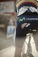 Jose Joaquin Rojas crashed his bib shorts..74th Gent-Wevelgem (2012).236km between Deinze & Wevelgem.winner 2012: Tom Boonen..