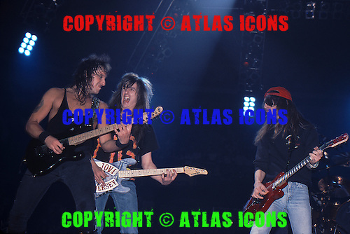 Bon Jovi; Skid Row w/ Jon Bon Jovi 1989; <br /> Photo Credit: Eddie Malluk/Atlas Icons.com