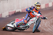 Martin Knuckey of Mildenhall Fen Tiger Cubs - Lakeside Young Hammers vs Mildenhall Fen Tiger Cubs, Anglian Junior League Speedway at the Arena Essex Raceway, Pufleet - 04/05/12 - MANDATORY CREDIT: Rob Newell/TGSPHOTO - Self billing applies where appropriate - 0845 094 6026 - contact@tgsphoto.co.uk - NO UNPAID USE..