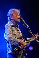 Caetano Veloso, worldwide famous bossa nova singer during his performance at Altos de Chavon in Dominican Republic.