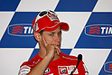 June 23, 2010 - Assen, Holland - Australian rider Casey Stoner answer journalist's questions . during the Dutch Grand Prix at Assen, Holland, on June 23, 2010. (Photo Andrew Northcott/Nippon News).