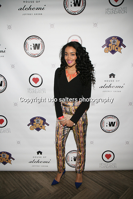 Dancer Asha Attends DJ Jon Quick's 5th Annual Beauty and the Beat: Heroines of Excellence Awards Honoring AMBRE ANDERSON, DR. MEENA SINGH,<br /> JESENIA COLLAZO, SHANELLE GABRIEL, <br /> KRYSTAL GARNER, RICHELLE CAREY,<br /> DANA WHITFIELD, SHAWN OUTLER,<br /> TAMEKIA FLOWERS Held at Suite 36, NY