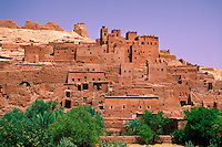 Kasbahs, Ait-Benhaddou (near Ouarzazate), Morocco