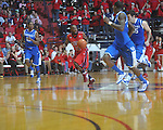 Ole Miss guard Chris Warren (12) at the C.M. &quot;Tad&quot; Smith Coliseum in Oxford, Miss. on Tuesday, February 1, 2011. Ole Miss won 71-69.