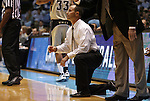 08 November 2008: Pembroke head coach Ben Miller. The University of North Carolina Tarheels defeated the University of North Carolina at Pembroke Braves 102-62 at the Dean E. Smith Center in Chapel Hill, NC in an NCAA exhibition basketball game.