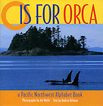Kindergarten-Grade 2-O Is for Orca is indeed an alphabet book; but it is much more, thanks to Wolfe's stunning full-color photography. He presents an interesting variety of the area's people, land and sea animals, plants, and geographical features. Brief information accompanies each entry. The book helps youngsters to identify the ecology, habitats, and geography of the Pacific Northwest; the descriptions focus on the characteristics that make them unique. The large print is attractive and easy to read. The vocabulary, for the most part, is within the reach of most primary-grade students; however terms such as dormant and propel may need explanation. Regional photography and the alphabet go hand in hand to produce a nonfiction selection that will appeal to a broad audience.<br />