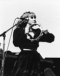 Fleetwood Mac 1983 Stevie Nicks.© Chris Walter.