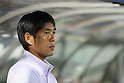 Hajime Moriyasu (Sanfrecce),.AUGUST 11, 2012 - Football / Soccer :.Sanfrecce Hiroshima head coach Hajime Moriyasu before the 2012 J.League Division 1 match between Omiya Ardija 1-2 Sanfrecce Hiroshima at NACK5 Stadium Omiya in Saitama, Japan. (Photo by Hiroyuki Sato/AFLO)