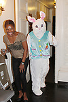 Hearts of Gold Easter and Spring Celebration with Easter dinner, arts and crafts and a visit with the Easter Bunny held for the mothers and their children on April 18, 2017 in New York City, New York. (Photo by Sue Coflin/Max Photos)