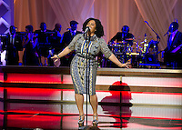 American singer-songwriter, model, poet and actress Jill Scott performs &quot;Run, Run, Run&quot; at BET&rsquo;s &ldquo;Love and Happiness: A Musical Experience&rdquo; on the South Lawn of the White House in Washington, DC on Friday, October 21, 2016.<br /> Credit: Ron Sachs / Pool via CNP /MediaPunch