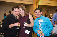 Amanda Schwartz, second from left, Jarod Vakhshoorzadeh. Class of 2013 dinner.