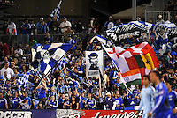 Kansas City Wizards fans celebrate goal...Kansas City Wizards defeated Colorado Rapids 1-0 at Community America Ballpark, Kansas City, Kansas.