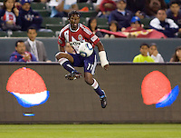 CD Chivas USA midfielder Michael Lahoud (11) moves with the ball. CD Chivas USA defeated the San Jose Earthquakes 3-2 at Home Depot Center stadium in Carson, California on Saturday April 24, 2010.  .