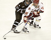 Jacquie Pierri (Brown - 26), Kelli Stack (BC - 16) - The Boston College Eagles defeated the visiting Brown University Bears 5-2 on Sunday, October 24, 2010, at Conte Forum in Chestnut Hill, Massachusetts.