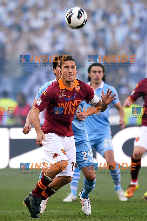 Francesco Totti Roma .Roma 26/05/2013 Stadio Olimpico.Roma Lazio.Football Calcio 2012/2013 .Calcio Finale Coppa Italia / Italy Cup Final.Foto Andrea Staccioli Insidefoto