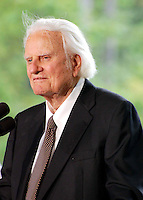 Billy Graham speaks at his library opening in Charlotte<br />