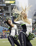 Seattle Seagals perform during a time out called by the Arizona Cardinals at CenturyLink Field in Seattle, Washington on  December 9, 2012.  The Seahawks beat the Cardinals 58-0.   ©2012. Jim Bryant Photo. All Rights Reserved.  ©2012. Jim Bryant Photo. All Rights Reserved.