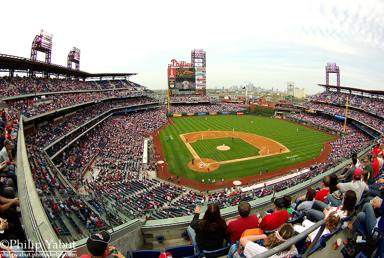 Citizens Bank Park, home of the Philadelphia Phillies.