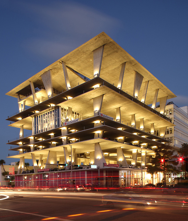 1111 Lincoln Road developed by Robert Wennett and designed by Herzog and De Meuron 2010